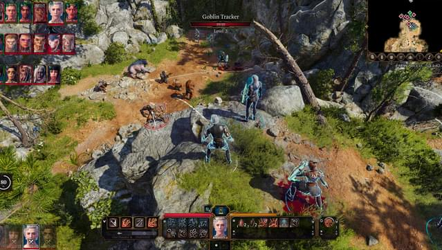 Baldur's Gate 3 action screenshot