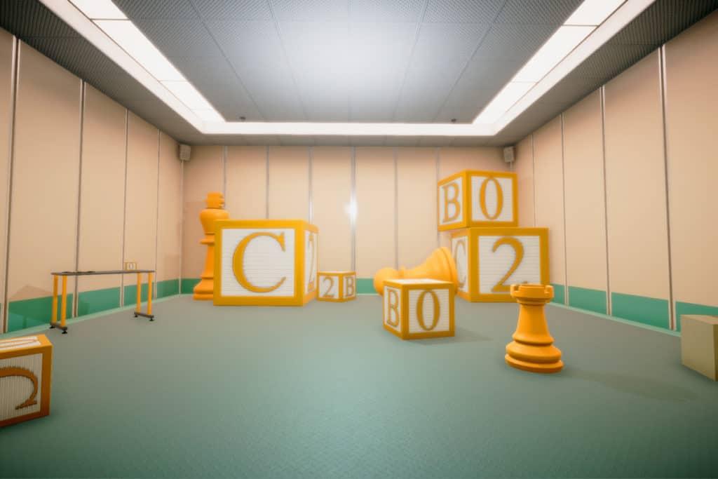 Superliminal early level screenshot
