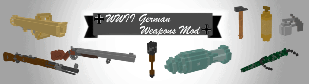 Title image for 'WWII German Weapons Mod' for Teardown.