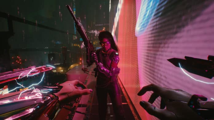 disable Cyberpunk 2077 Vignette
