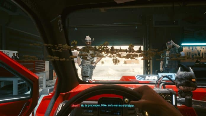 Cyberpunk 2077 Trees Bug