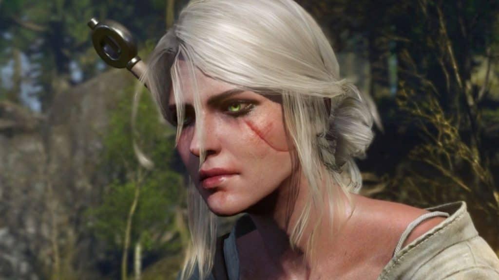 Ciri screenshot from The Witcher 3: WIld Hunt