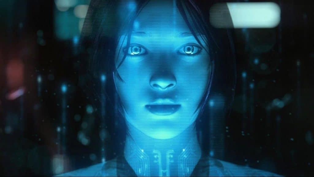 Cortana death scene from Halo