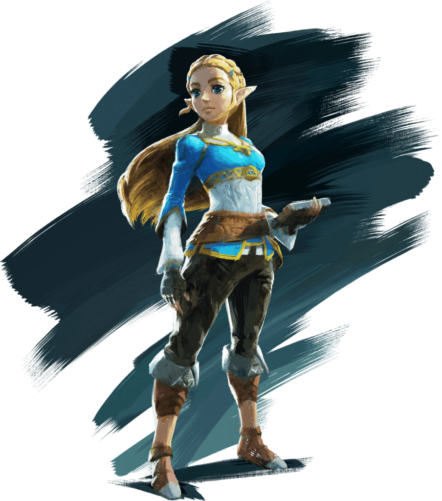 Princess Zelda splash art