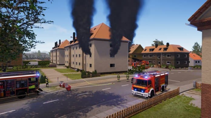 Emergency Call 112 – The Fire Fighting Simulation 2 Screenshot from the Steam page