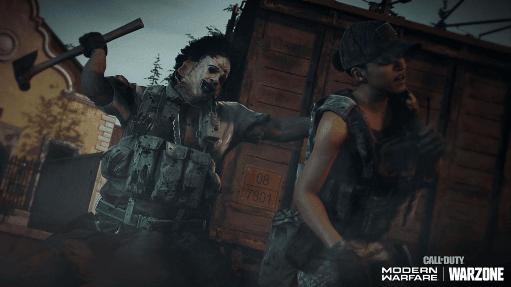 Call of Duty Modern Warfare axe man