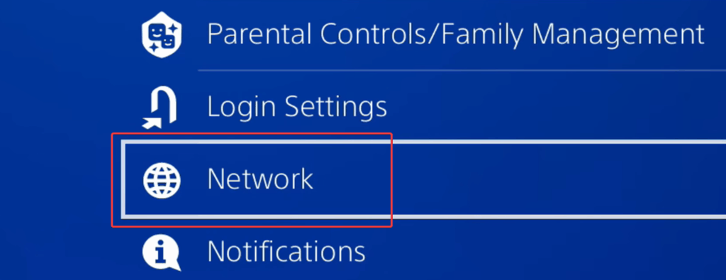 Network Settings allow you to configure various options related to your internet connection