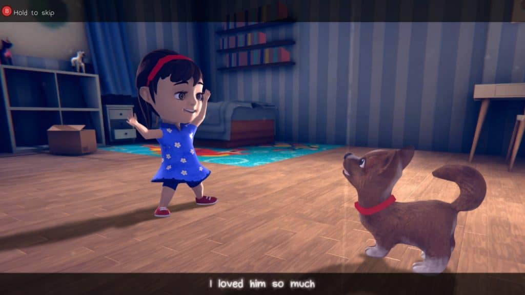 A screenshot featuring the character models of In My Shadow. Admittedly the weakest part of our In My Shadow review