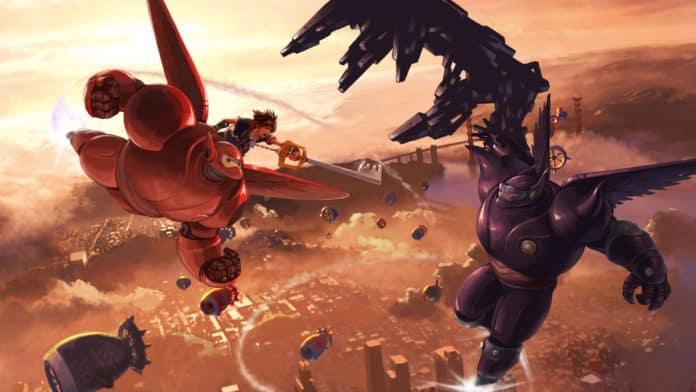 Kingdom Hearts 3 Artwork