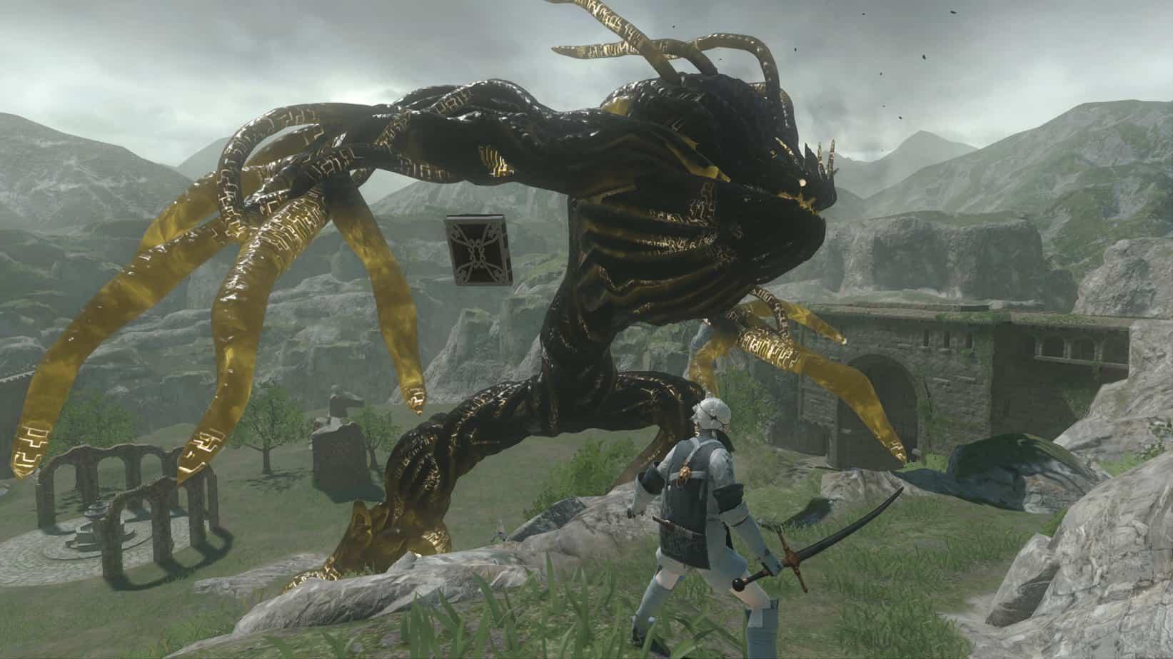 Nier Replicant Gameplay Screenshot