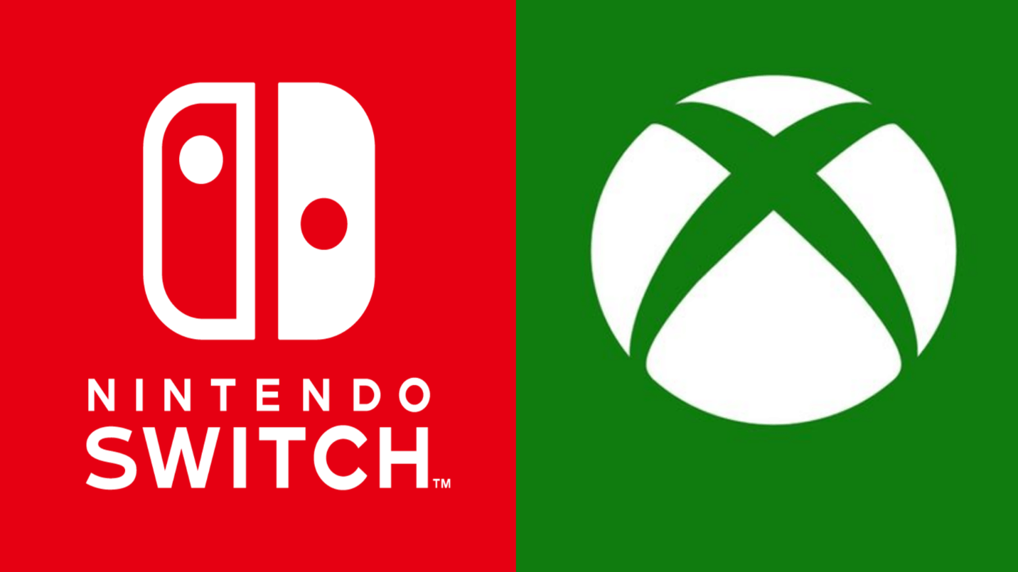 Nintendo and Xbox logos to symbolize possible partnership