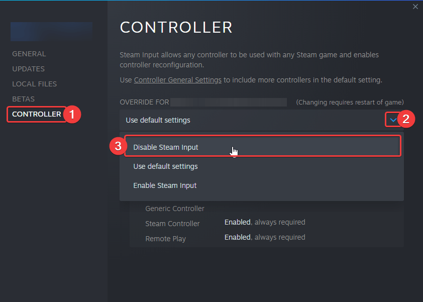 Turning off Steam input fixes the Nier Replicant stuttering issue with controller