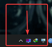 RivaTuner will show up in the Windows Taskbar, and run in the background