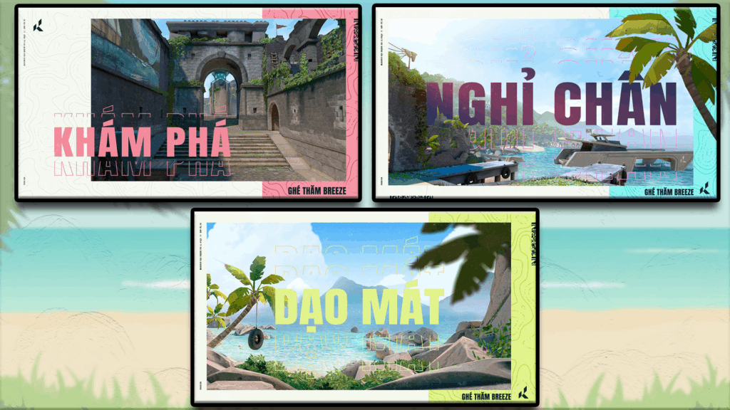 New Vietnamese Teasers for New Breeze Map