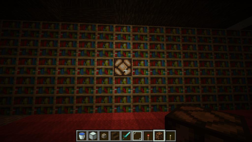 Minecraft Redstone Lamp