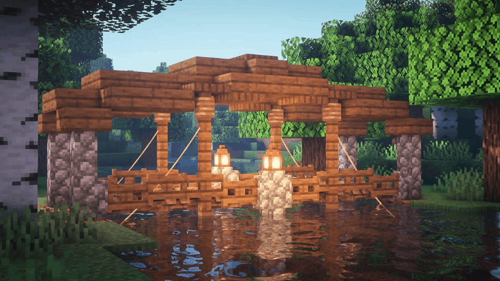 It bridge is one of the many cool things to build in Minecraft!
