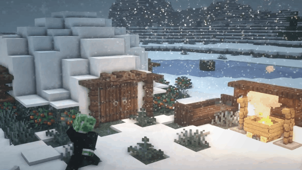 This Igloo is one of the fun things to build in Minecraft on our awesome list!