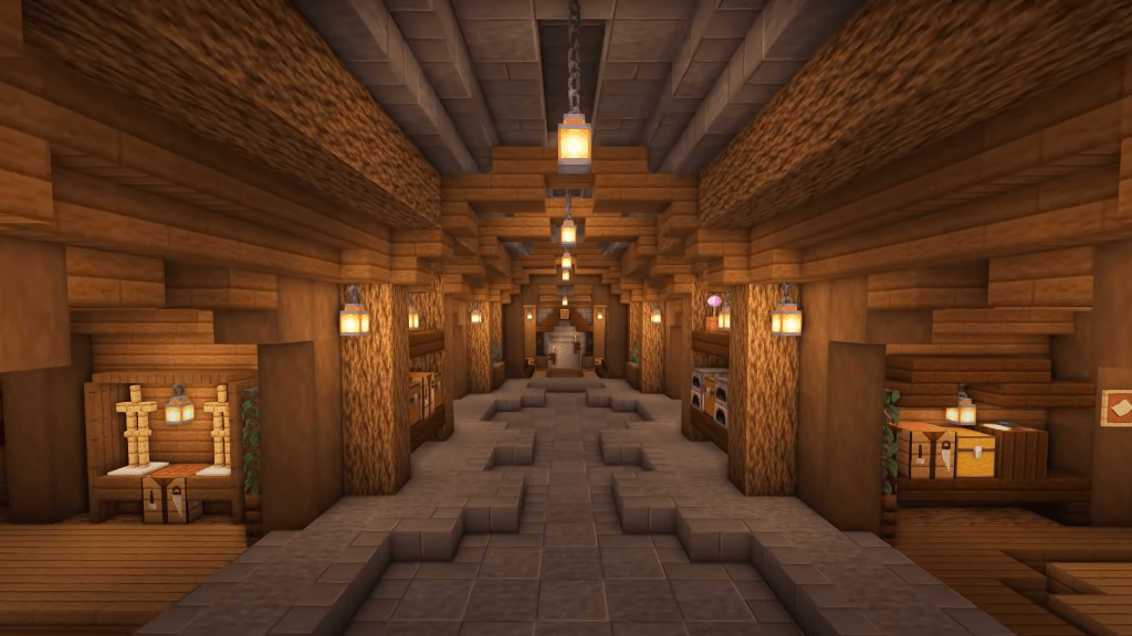 This bunker is a great idea for your next Minecraft projects.