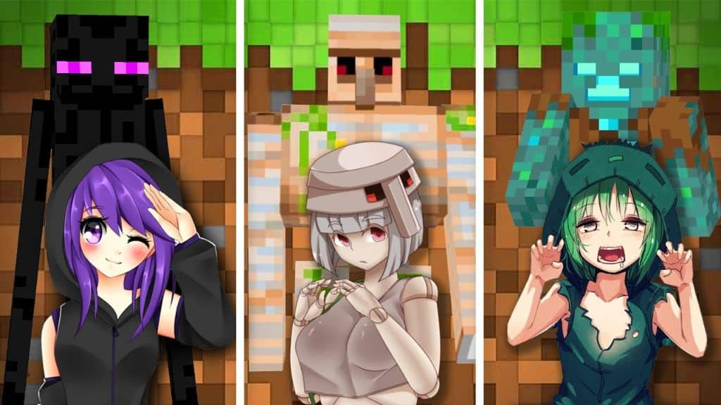 Anime Minecraft Texture Packs
