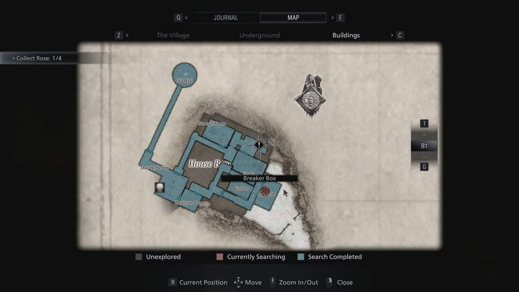 House Beneviento Map Layout