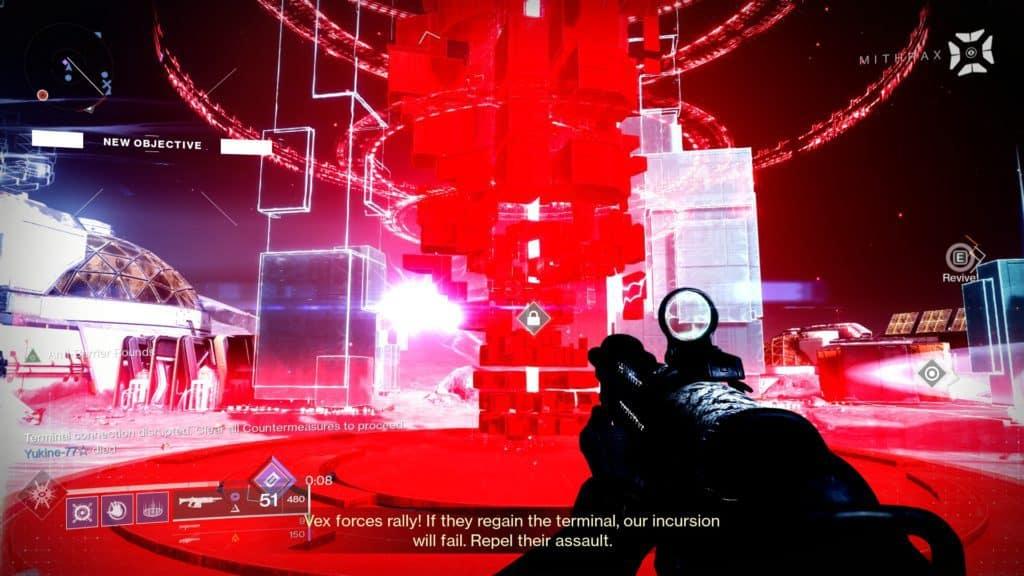Defeat Vex Countermeasures in Destiny 2 Override: Moon.