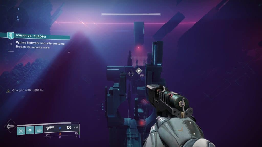 Destiny 2 Override. Enter the vortex to start the platforming stage of the activity.