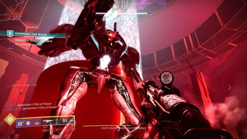 Defeat the Subjugated Mind in Destiny 2 Override: Moon.
