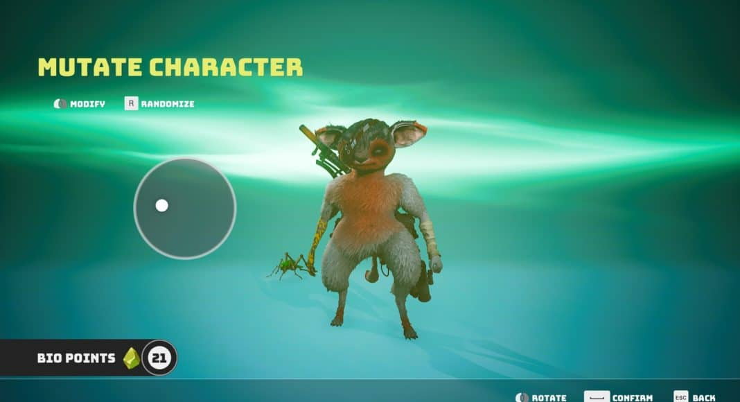 How to Change your Appearance in Biomutant