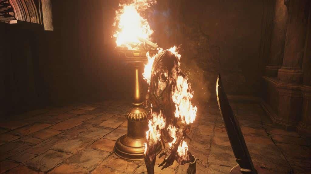 Burning the Vampire