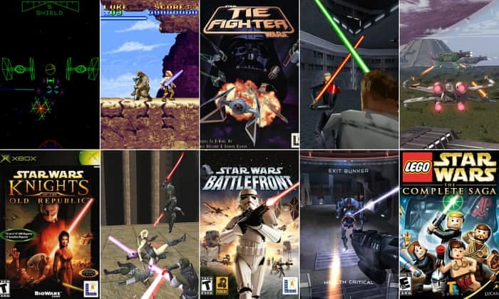 Compilation of Star Wars Games