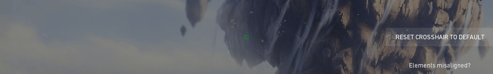 Recommended crosshair settings for a circular crosshair in Valorant